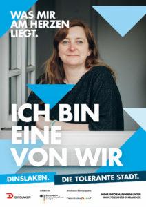 Tolerantes Dinslaken - Wir für Demokratie – Fotoaktion Stadtgesichter Dinslaken - Plakat Nummer 10