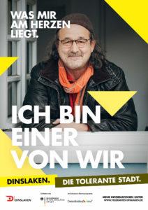 Tolerantes Dinslaken - Wir für Demokratie – Fotoaktion Stadtgesichter Dinslaken - Plakat Nummer 11