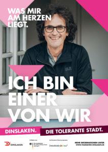 Tolerantes Dinslaken - Wir für Demokratie – Fotoaktion Stadtgesichter Dinslaken - Plakat Nummer 12