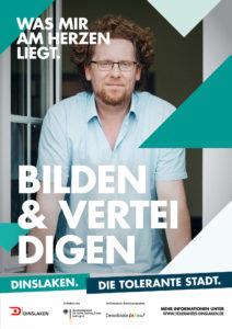 Tolerantes Dinslaken - Wir für Demokratie – Fotoaktion Stadtgesichter Dinslaken - Plakat Nummer 13