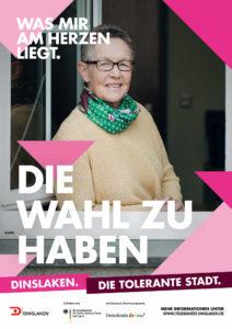 Tolerantes Dinslaken - Wir für Demokratie – Fotoaktion Stadtgesichter Dinslaken - Plakat Nummer 14
