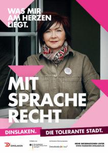 Tolerantes Dinslaken - Wir für Demokratie – Fotoaktion Stadtgesichter Dinslaken - Plakat Nummer 16