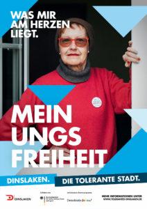 Tolerantes Dinslaken - Wir für Demokratie – Fotoaktion Stadtgesichter Dinslaken - Plakat Nummer 17