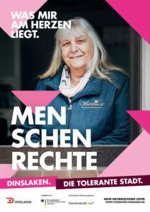 Tolerantes Dinslaken - Wir für Demokratie – Fotoaktion Stadtgesichter Dinslaken - Plakat Nummer 18