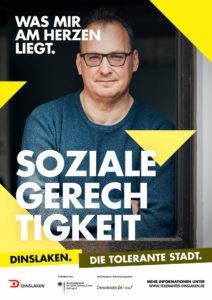 Tolerantes Dinslaken - Wir für Demokratie – Fotoaktion Stadtgesichter Dinslaken - Plakat Nummer 19