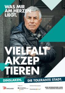 Tolerantes Dinslaken - Wir für Demokratie – Fotoaktion Stadtgesichter Dinslaken - Plakat Nummer 20