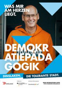 Tolerantes Dinslaken - Wir für Demokratie – Fotoaktion Stadtgesichter Dinslaken - Plakat Nummer 21