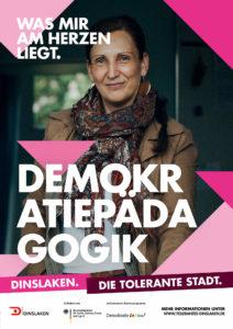 Tolerantes Dinslaken - Wir für Demokratie – Fotoaktion Stadtgesichter Dinslaken - Plakat Nummer 22