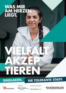 Tolerantes Dinslaken - Wir für Demokratie – Fotoaktion Stadtgesichter Dinslaken - Plakat Nummer 23