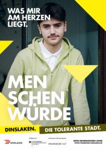 Tolerantes Dinslaken - Wir für Demokratie – Fotoaktion Stadtgesichter Dinslaken - Plakat Nummer 24