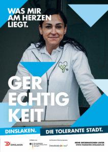 Tolerantes Dinslaken - Wir für Demokratie – Fotoaktion Stadtgesichter Dinslaken - Plakat Nummer 25