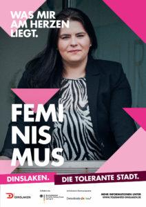 Tolerantes Dinslaken - Wir für Demokratie – Fotoaktion Stadtgesichter Dinslaken - Plakat Nummer 26
