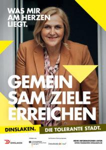 Tolerantes Dinslaken - Wir für Demokratie – Fotoaktion Stadtgesichter Dinslaken - Plakat Nummer 27