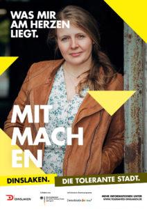 Tolerantes Dinslaken - Wir für Demokratie – Fotoaktion Stadtgesichter Dinslaken - Plakat Nummer 28