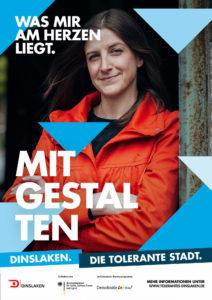 Tolerantes Dinslaken - Wir für Demokratie – Fotoaktion Stadtgesichter Dinslaken - Plakat Nummer 29