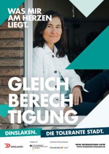 Tolerantes Dinslaken - Wir für Demokratie – Fotoaktion Stadtgesichter Dinslaken - Plakat Nummer 3