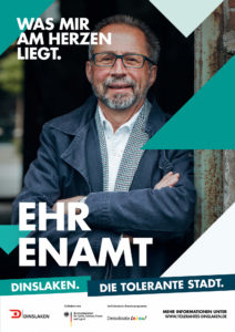 Tolerantes Dinslaken - Wir für Demokratie – Fotoaktion Stadtgesichter Dinslaken - Plakat Nummer 30