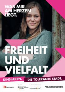 Tolerantes Dinslaken - Wir für Demokratie – Fotoaktion Stadtgesichter Dinslaken - Plakat Nummer 31