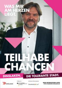 Tolerantes Dinslaken - Wir für Demokratie – Fotoaktion Stadtgesichter Dinslaken - Plakat Nummer 33