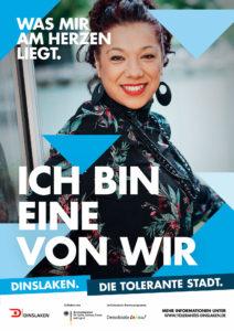 Tolerantes Dinslaken - Wir für Demokratie – Fotoaktion Stadtgesichter Dinslaken - Plakat Nummer 34