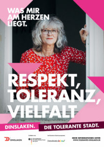 Tolerantes Dinslaken - Wir für Demokratie – Fotoaktion Stadtgesichter Dinslaken - Plakat Nummer 6