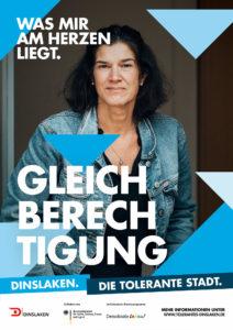 Tolerantes Dinslaken - Wir für Demokratie – Fotoaktion Stadtgesichter Dinslaken - Plakat Nummer 7