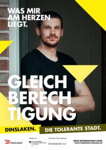 Tolerantes Dinslaken - Wir für Demokratie – Fotoaktion Stadtgesichter Dinslaken - Plakat Nummer 8