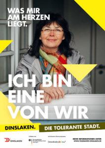 Tolerantes Dinslaken - Wir für Demokratie – Fotoaktion Stadtgesichter Dinslaken - Plakat Nummer 9